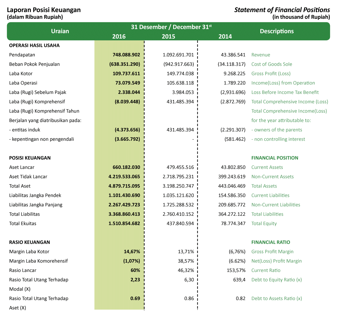 Financial Highlight-1